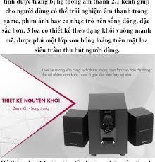 XẢ HẾT ) Loa Vi Tính, Loa Nghe Nhạc, Loa Vi Tính Bluetooth Microlab M-106BT  2.1 (10W) Âm Thanh To, Rõ Ràng, Trung Thực, Được Thiết Kế Nguyên Khối Đẹp  Mắt,