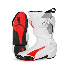 puma motorcycle boots. puma 1000 v3 vented ce motorcycle boot red white boots