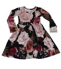 Posh Peanut Size Chart Posh Peanut Zoey Floral Twirl Dress With Long Sleeves