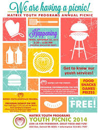 Very Nice Picnic Poster Flyer Template Free Flyer