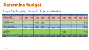 software development project budget template 8 project cost management