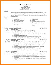 7 Basic Resume Examples For Part Time Jobs Letter Adress