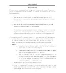 Executive Summary Outline Project Management Executive Summary Plan Outline Template