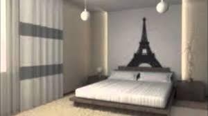 Paris Themed Teenage Bedroom Teenage Paris Themed Bedrooms Youtube