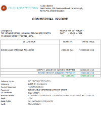 Commercial Invoice How To Show An Advance Payment Discount On A Commercial Invoice