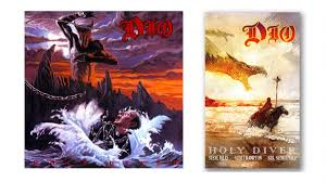 Ronnie James <b>Dio's Holy Diver</b> Album Inspires Upcoming Graphic ...