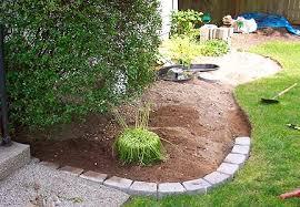 garden border stone edging stone bed edging 30 brilliant garden edging ideas you can do at