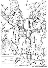 Coloring Dragonball Z Beautiful Stock Dragon Ball Z Coloring Page