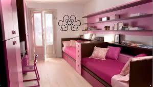 Pink Color Bedroom Bedrooms Unique Shelving Unit Design Applied Under Tween Girl
