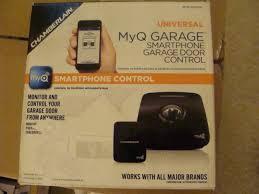 chamberlain myq universal smartphone garage door opener controller myq g0201p