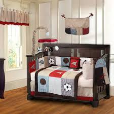 sports baby bedding bedding cribs vintage red design home interior furniture baby boy sports crib bedding