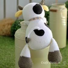 Crochet Cow Pattern