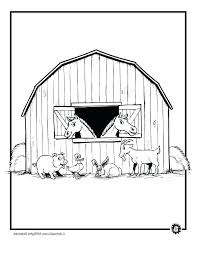 Printable Farm Coloring Pages Camelliacottageinfo