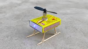 How To Macke How To Make Helicopter Matchbox Helicopter Toy Diy