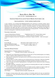 Nursing Resume Cover Letter Mesmerizing Best Nurse Resume Registered Practical Nurse Resume Sample New