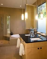 luxury bathroom pendant lighting for awesome modern pendant lights for bathroom vanity wooden component hanging washbasin