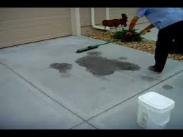 how to remove oil stains from a