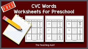 These free worksheets help your kids learn to define sounds from letters to make words. Free Phonics Worksheets Archives The Teaching Aunt
