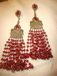 ruby red chandelier ruby white gold pearl chandelier earrings ruby red icicle chandelier