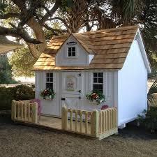 outdoor wooden playhouse children s daycare philadelphia best for 5