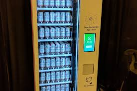 Vending Machine Dispenser Cool Beer Vending Machine Uses Blockchain To Verify Age Before Dispensing
