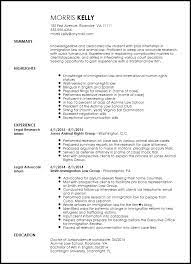 legal internship resume exle