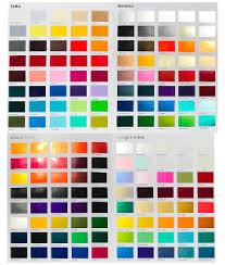 Custom Car Paint Colors Selector Urechem Color Chart Buy