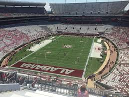 Alabama Seating Chart Bryant Denny Bryant Denny Stadium Section Nn5 Rateyourseats Com