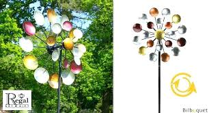 regal art and gift kinetic galaxy hand painted regal art gift and solar light tulip