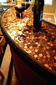 home bar top ideas penny covered home bar design offering a push luxurious vibe to your home bar top ideas