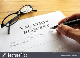 picture of vacation request vacation request