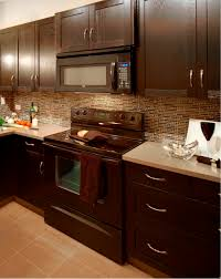 Garden Web Kitchens White Speckle Countertops With Black Appliances Pics Of Kitchens
