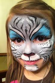 kitty face painting cat face