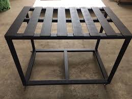 picture of diy welding table