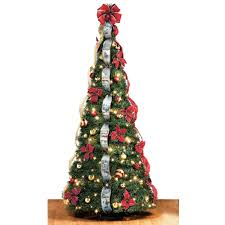 GE 7 Ft White Winterberry Branch Tree With LED Lights21052HD 6 Foot Christmas Tree With Lights