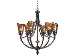 uttermost vitalia oil rubbed bronze six light 29 13 wide chandelier