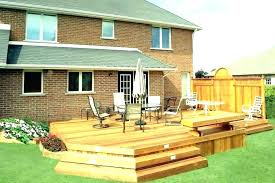Backyard Deck Designs Plans Cool Ideas