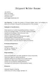 Welder Resume Sample Welding Resume Template Welder Resume Examples