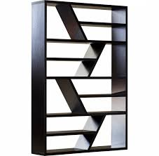 Zigzag Bookcase  Rattlecanlv (View 13 of 15)