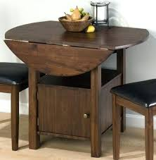 round dining table with storage small kitchen table with storage chic drop leaf table with storage round dining table