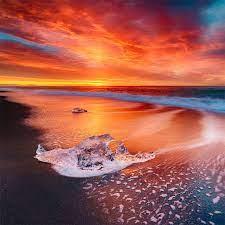 waves ocean long exposure 4k iPad Pro ...