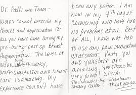 Testimonials Scottsdale Plastic Surgeon Dr Patti Flint