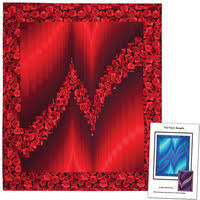 TWO FABRIC BARGELLO QUILT TOP KIT-Quilt Top Kits-Kits & TWO FABRIC BARGELLO QUILT PATTERN Adamdwight.com