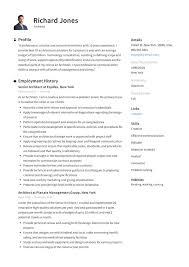 Resume Examples Architect Resume Examples Pdf