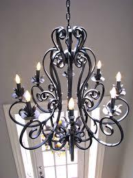 fullsize of best collection wrought iron lighting fixtures roselawnluran regarding wroughtiron chandeliers wrought iron chandeliers wrought