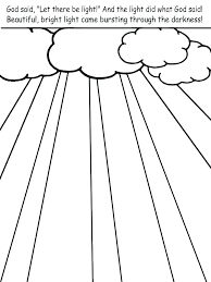 Creation Coloring Sheets Preschool Creation Coloring Page Free