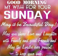 Good Morning Sunday Quote Best of Good Morning My Wish For Your Sunday Pictures Photos And Images