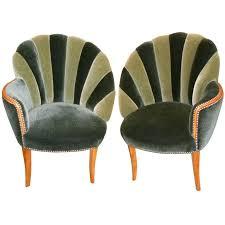 vintage art deco furniture. Vintage Art Deco Cabinet Mohair Side Chairs Antique Furniture . O