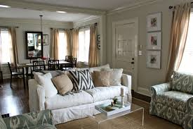 Off White Curtains Living Room Home Tips Absolute Privacy And Relax With Crate And Barrel