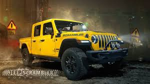 Jeep 'Scrambler' Pickup Truck to Debut at LA Auto Show in November ...